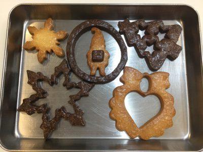 飴入れ前のクッキー